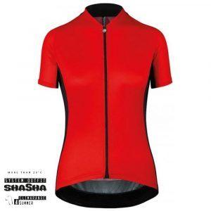 Assos Dame Cykeltrøje UMA GT Short Sleeve Jersey, Rød