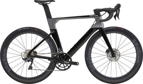 Cannondale SystemSix Carbon Ultegra 2022 - Sort/Grå