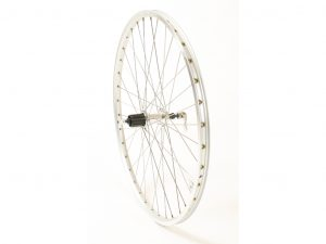 Connect MTB baghjul - 26 x 1.75 - 8/10 gear - Ryde ZAC 19 fælg - Sølv