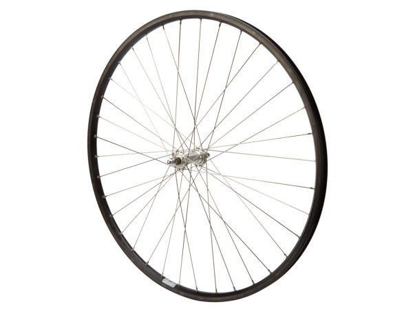 Connect citybike forhjul - 700c - Ryde ZAC19 - Sort/sølv
