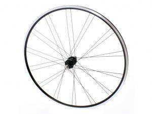 Connect racer baghjul - 700c - 8/10 speed - Ryde flyer fælg - Sort/sølv