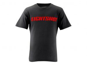 Eightshot - T-Shirt til børn - Sort - Str. 128