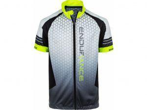 Endurance Verove - Cykeltrøje m. korte ærmer - Junior - Safety Yellow - Str. 6