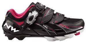 NorthWave Vega SBS Dame MTB-sko, sort/pink