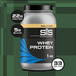 SIS Whey Protein Powder - Vanilla - 1kg