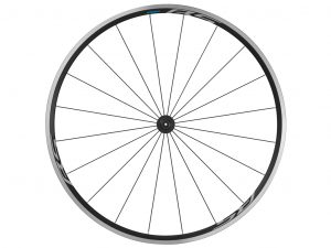 Shimano Forhjul - 700c Road CL - WH-RS100 med QR aksel