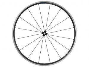 Shimano Forhjul - 700c Road CL - WH-RS300 med QR aksel