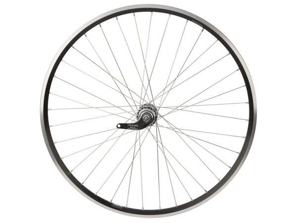 Connect baghjul - 700c / 19x622- 1 gear - Fodbremse - Ryde ZAC19 - Sort/sølv