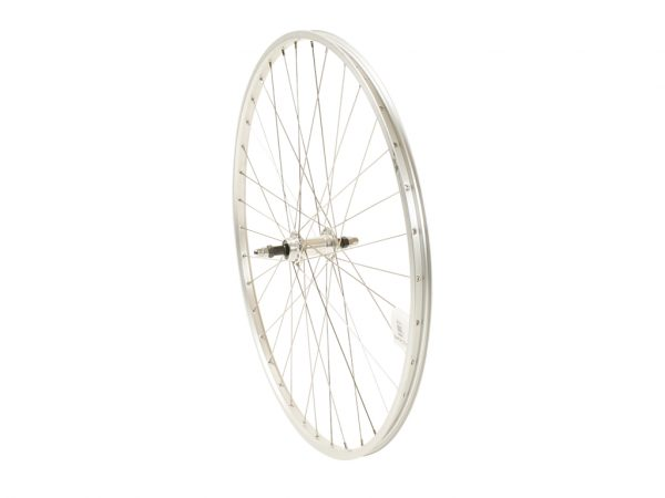 Connect citybike baghjul - 700c - Skruekrans - Ryde AS26SL fælg - Sølv