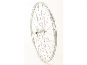 Connect citybike forhjul - 700c - Ryde AS26SL fælg - Sølv
