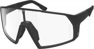 Scott Pro Shield Cykelbrille - Sort/Transparent