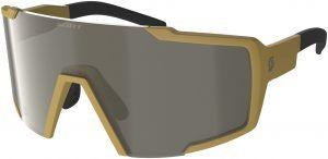Scott Shield Compact Cykelbrille - Gul/Brun