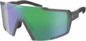 Scott Shield Cykelbrille - Grå/Grøn