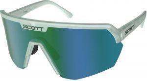 Scott Sport Shield Cykelbrille - Grøn/Blå/Hvid