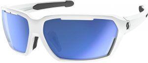 Scott Vector Cykelbrille - Hvid/Blå